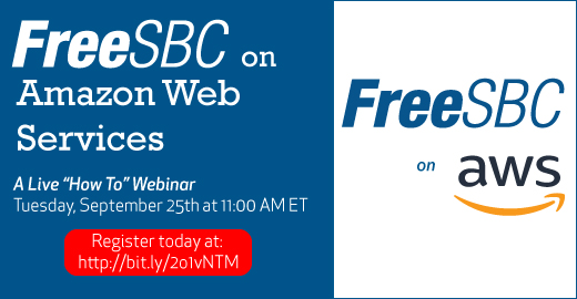 FreeSBC takes to the Cloud on AWS