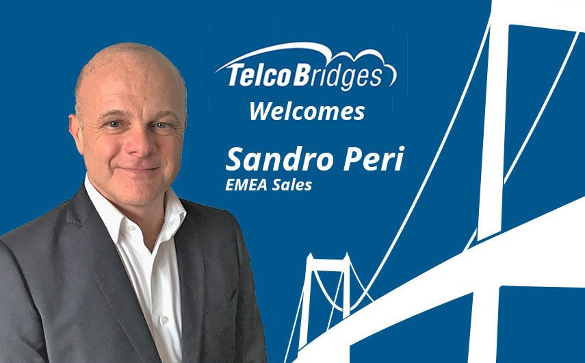 Welcome Sandro Peri to TelcoBridges